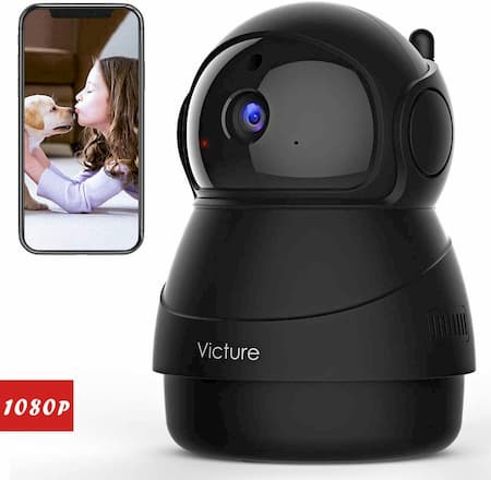 VICTURE PC540: WIRELESS INDOOR SECURITY CAMERA FOR BABIES AND PETS